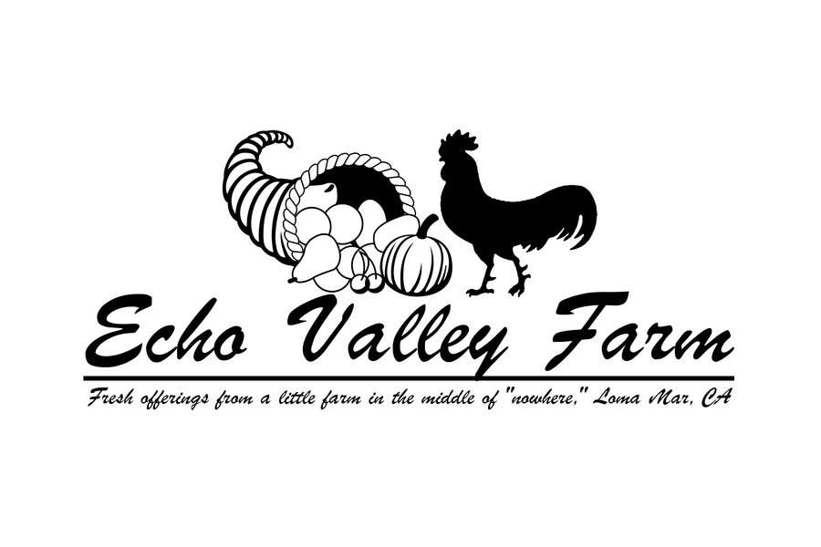 Inscrição nº 534 do Concurso para Logo Design for Echo Valley Farm