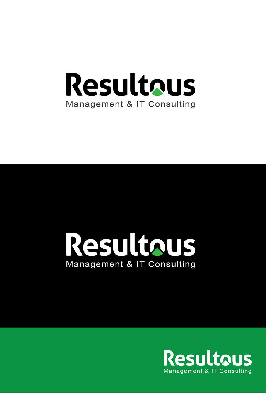 #129 for Design a Logo for Resultous Management & IT Consulting by graphicexpart