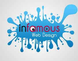 #206 for Logo Design for infamous web design: Dangerously Clever by Salbatyku