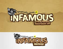 #204 para Logo Design for infamous web design: Dangerously Clever por taks0not