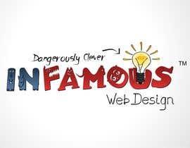 #123 untuk Logo Design for infamous web design: Dangerously Clever oleh coreYes