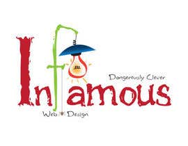 #193 para Logo Design for infamous web design: Dangerously Clever por harjeetminhas