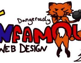 #179 for Logo Design for infamous web design: Dangerously Clever af Meemzy