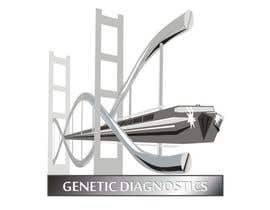 #9 para Logo Design for Genetic Diagnostics and Therapeutics Compay por manikmoon