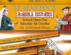 #11 para Design a flyer for the school open day por melevisione