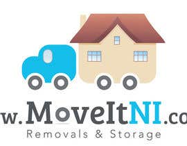 #13 para Design a Logo for MoveitNI por kamikira