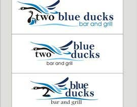 #20 for Design a Logo for two blue ducks bar and grill af TOPSIDE