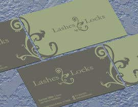 #29 untuk Design some Business Cards for eyelash / hair extensions oleh jobee