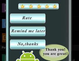 #1 for Rating Motivation Screen for Android App af RemilyMonz