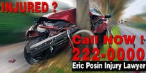 Graphic Design Contest Entry #162 for Design a billboard for Injury Attorney Eric Posin
