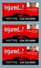 Bài tham dự #58 về Graphic Design cho cuộc thi Design a billboard for Injury Attorney Eric Posin