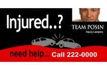 Bài tham dự #106 về Graphic Design cho cuộc thi Design a billboard for Injury Attorney Eric Posin
