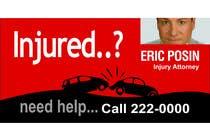 Bài tham dự #36 về Graphic Design cho cuộc thi Design a billboard for Injury Attorney Eric Posin