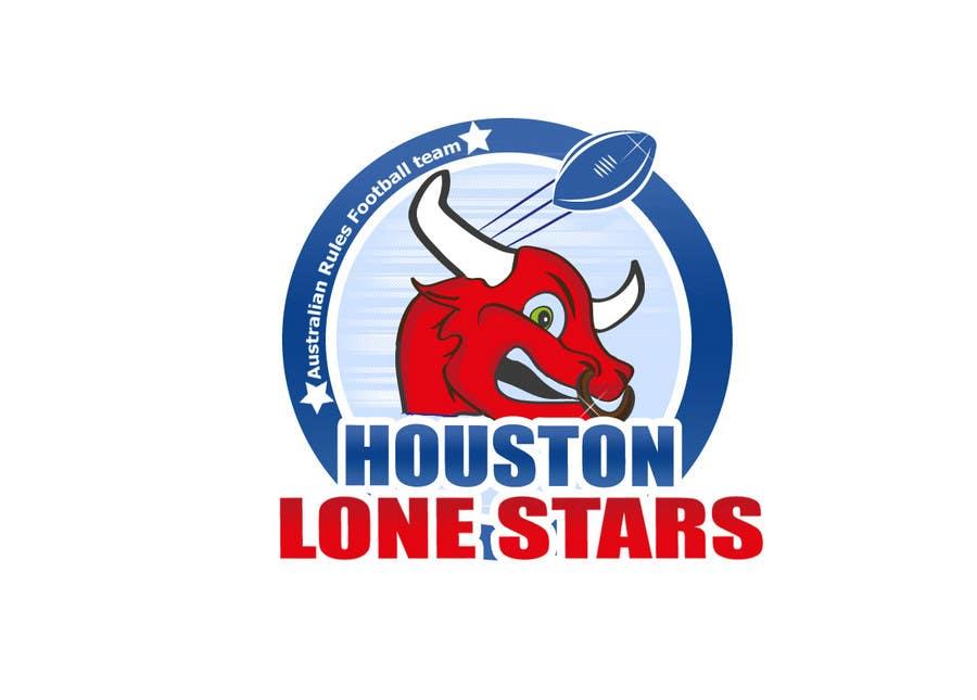 Contest Entry #                                        191                                      for                                         Logo Design for Houston Lonestars Australian Rules Football team