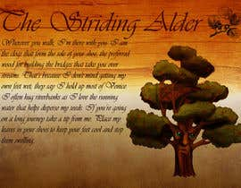 #16 untuk Adding colour and background to the Striding Alder oleh thenomobs