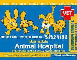 #31 para Graphic Design for Bairnsdale Animal Hospital por mohihashmi