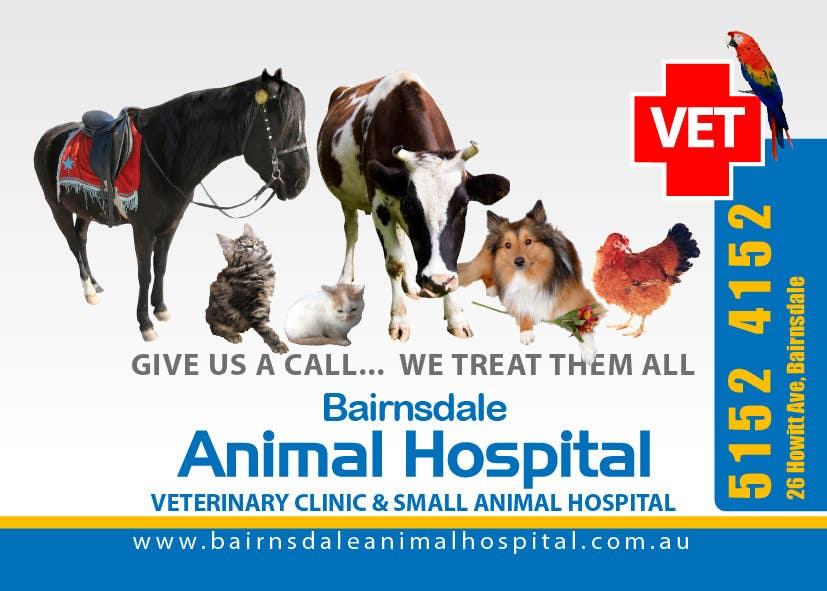 Inscrição nº 24 do Concurso para Graphic Design for Bairnsdale Animal Hospital