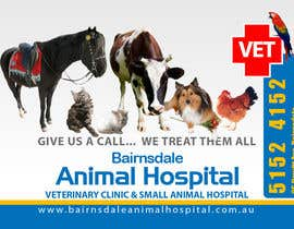 nº 24 pour Graphic Design for Bairnsdale Animal Hospital par mohihashmi