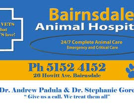 nº 4 pour Graphic Design for Bairnsdale Animal Hospital par SweetLeigh