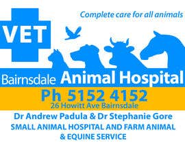 #41 para Graphic Design for Bairnsdale Animal Hospital por eenchevss