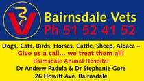 Bài tham dự #3 về Graphic Design cho cuộc thi Graphic Design for Bairnsdale Animal Hospital