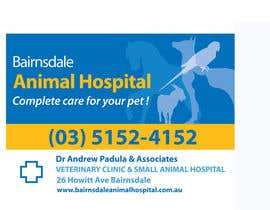 nº 12 pour Graphic Design for Bairnsdale Animal Hospital par LaurenMonique
