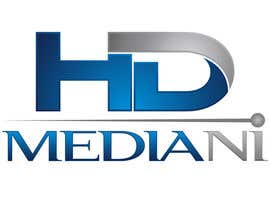 #54 para Design a Logo for HD Media NI por rivemediadesign