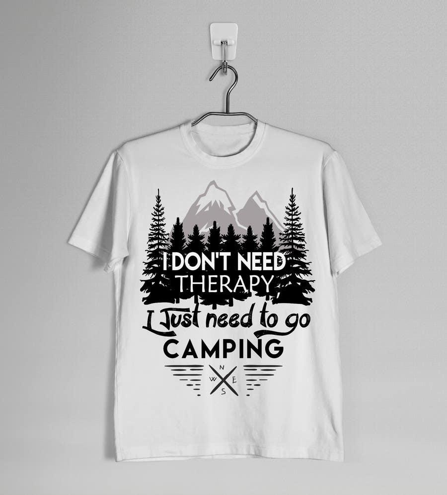 Shirt design contest -  39 For Camping T Shirt Design Contest By Karenli9