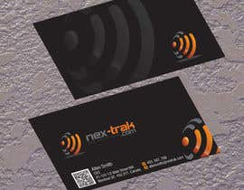 jobee tarafından Design some Business Cards for Nex-Trak.com için no 4