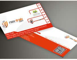 webcloud9 tarafından Design some Business Cards for Nex-Trak.com için no 16