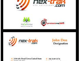 designfrenzy tarafından Design some Business Cards for Nex-Trak.com için no 13