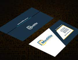 #47 para Design some Business Cards for Medifile por sajikoliyadi