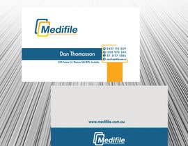 #48 para Design some Business Cards for Medifile por sajikoliyadi