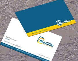 nº 46 pour Design some Business Cards for Medifile par jobee