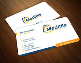 #57 para Design some Business Cards for Medifile por ezesol
