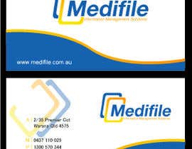#36 untuk Design some Business Cards for Medifile oleh designfrenzy
