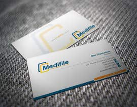 #37 para Design some Business Cards for Medifile por shyRosely
