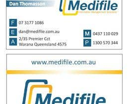 #41 para Design some Business Cards for Medifile por Daiana18