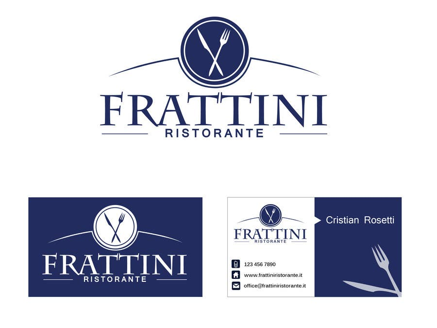 #120 for Design a Logo for Frattini Restaurant by alexandracol