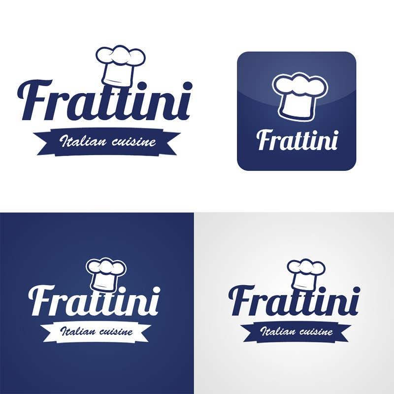 #63 for Design a Logo for Frattini Restaurant by Khempop