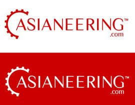#637 for Logo design ASIANEERING by moeenmh