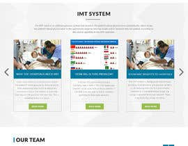 Nro 4 kilpailuun Informational Site for Medical Technology Company - Need Design of 3 PSD page mock ups - Easy Drag & Drop Wireframe PSDs Included! käyttäjältä webmastersud