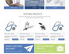Nro 1 kilpailuun Informational Site for Medical Technology Company - Need Design of 3 PSD page mock ups - Easy Drag & Drop Wireframe PSDs Included! käyttäjältä doomshellsl
