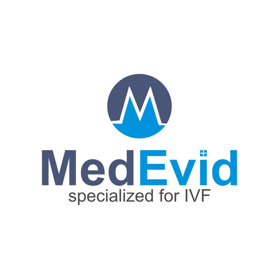 """Bài tham dự cuộc thi #20 cho Design logo for Medical system named """"MedEvid"""", specialized for IVF"""
