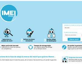 nº 77 pour Diseñar un logotipo for IMEIshop par Sofia0708