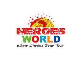 #32 para Design a Logo for HEROES WORLD por ranjitsinha78
