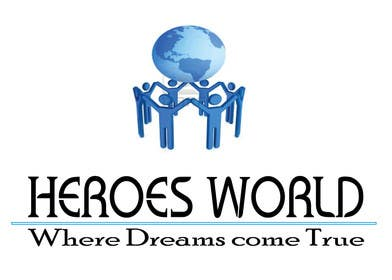 #67 para Design a Logo for HEROES WORLD por gpatel93