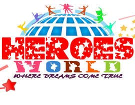 #62 para Design a Logo for HEROES WORLD por nandhakumar0711