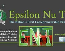#3 for Design a Epsilon Nu Tau Fraternity Table Banner af amcgabeykoon