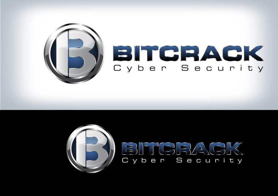 Entry #71 by Clarify for Logo Design for Bitcrack Cyber Security